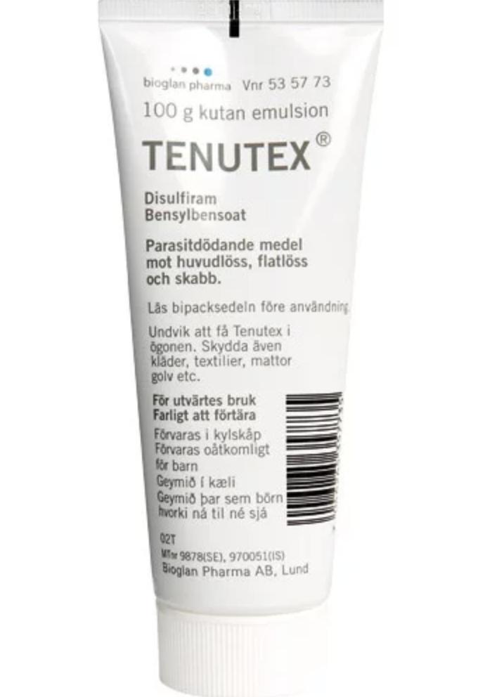 Lusmedel Tenutex Kutan Emulsion