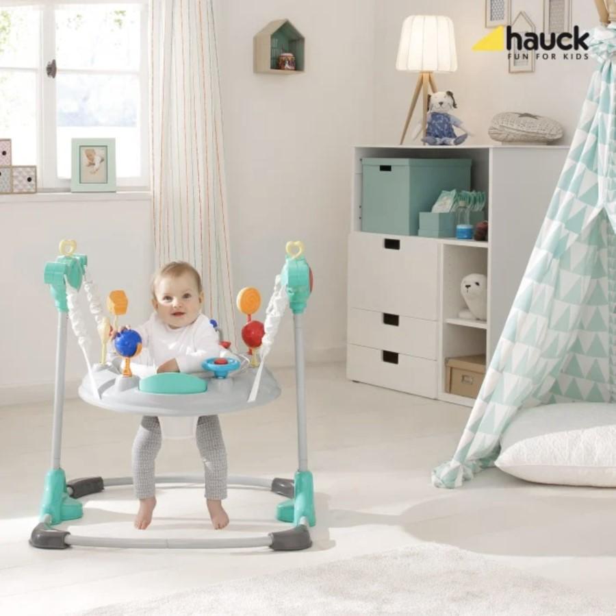 Hoppgunga för baby – Från vilken ålder? Vi testar!