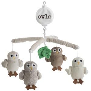 Finaste sängmobilerna - Rätt Start Baby Owls Sängmobil