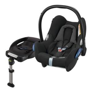 Bästa babyskyddet - Maxi-Cosi Cabriofix med bas