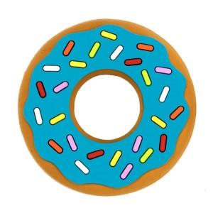 Bitring bäst i test - Silli Chews Bitleksak Blue Donut Bleu