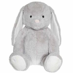 Teddykompaniet Kanin Grå