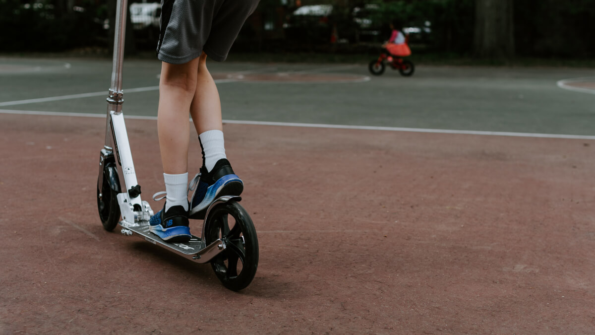 Bästa el scootern för barn