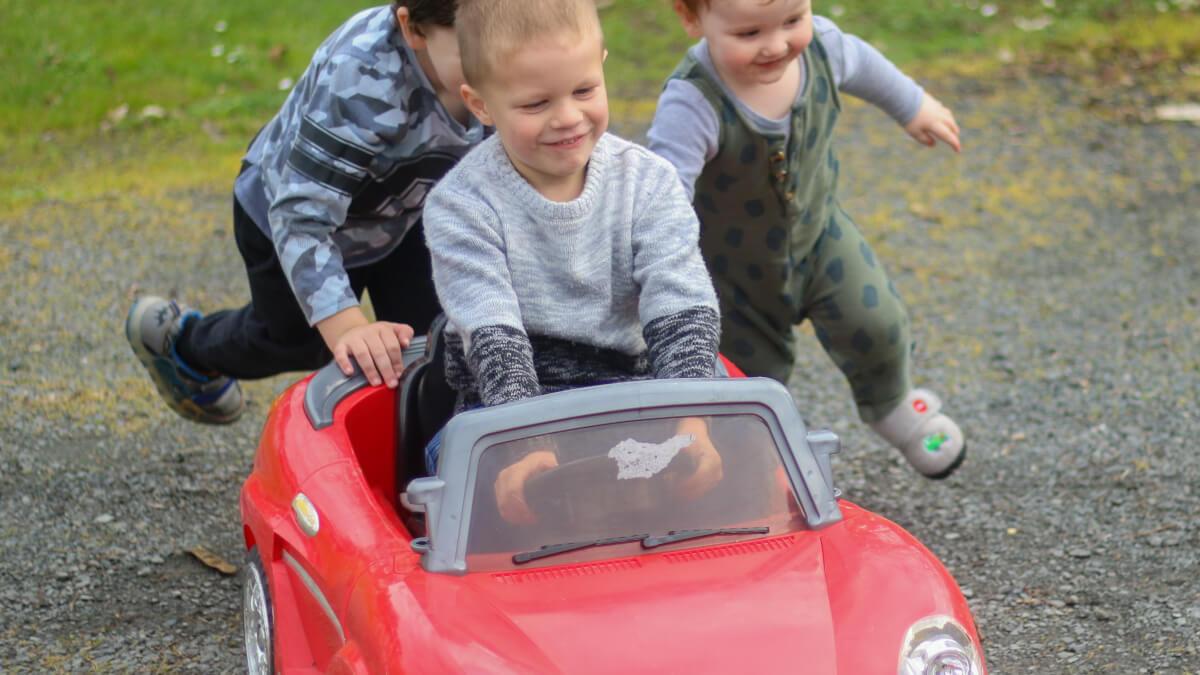 Bästa fyrhjulingen för barn