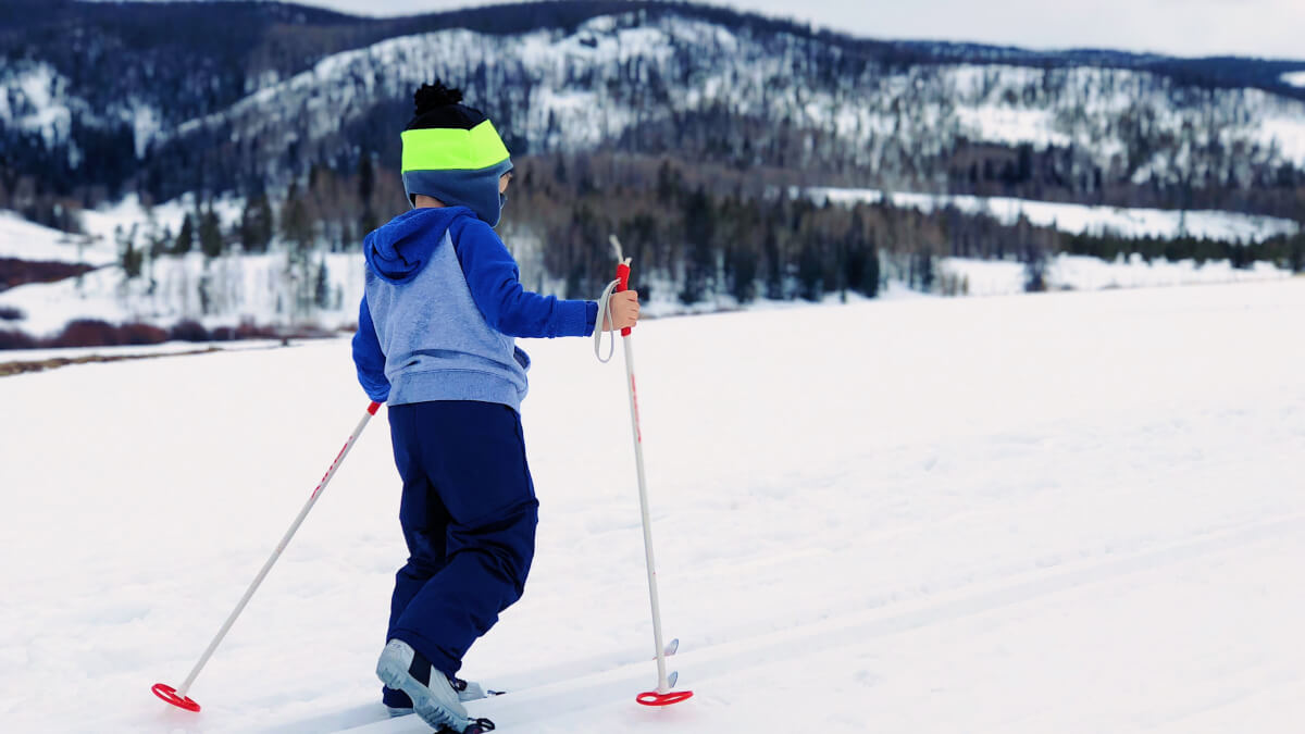Skidresorter för barnens vinteräventyr